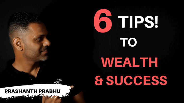 6 Tips in 4 weeks to Attract Wealth and Success
